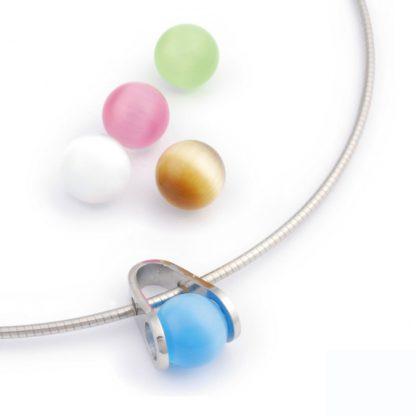 ISIS Jewels Ball Game hanger met 5 glasparels-0