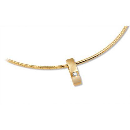 Hanger van goud met diamant-0