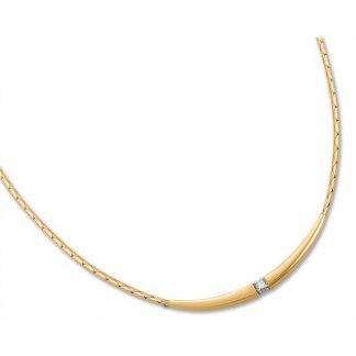 Marbeau collier van goud met diamant-0