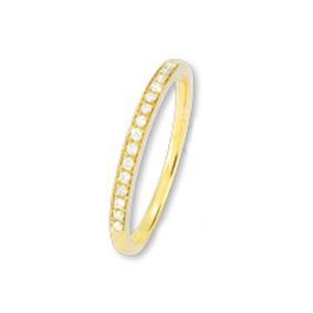 ISIS Jewels Aanschuifring van goud met diamant-0