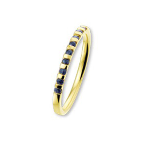 ISIS Jewels Aanschuifring van goud met kleursteen-0