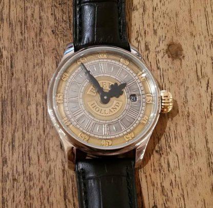BREVR horloge Johann Sebastian Bach gold silver-0