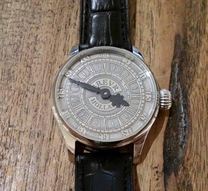 BREVR horloge Johann Sebastian Bach silver -0