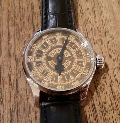 BREVR horloge Johann Sebastian Bach gold-0