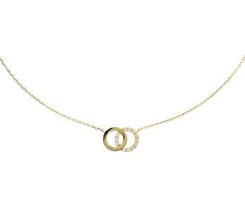 Gouden fantasie collier -0