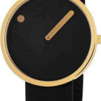 PICTO horloge goud-zwart-0