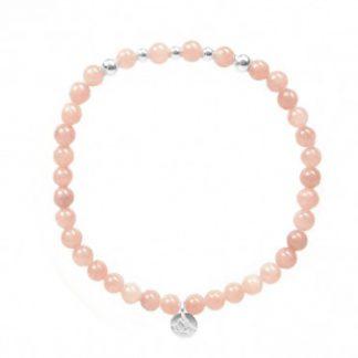MAS Jewelz armband Roze Opaal II-0