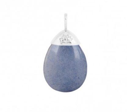 Mas Jewelz hanger-blauwe kwarts-0
