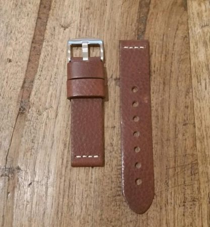 Horlogeband leather Vintage 2 chestnut-0