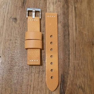 Horlogeband leather Vintage 2 Honey-0