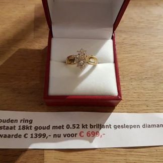 Occasion ring goud-0