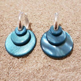 Eardrops kobalt blauw-0