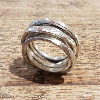 MARCOBREUR wikkelring zilver-0