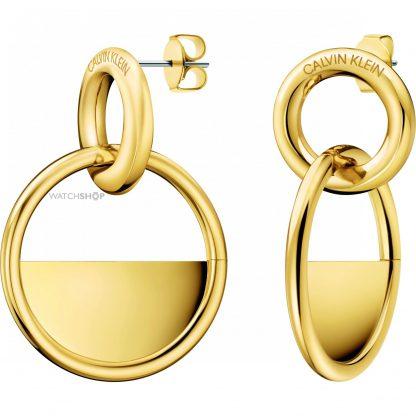 Calvin Klein oorbellen Locked-0