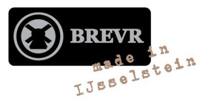 BREVR horloge Mayet comtoise gold black-23502