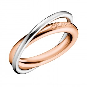 Calvin Klein ring Double-0
