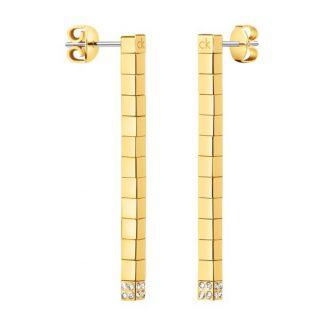 Calvin Klein oorbellen Tune goud-0