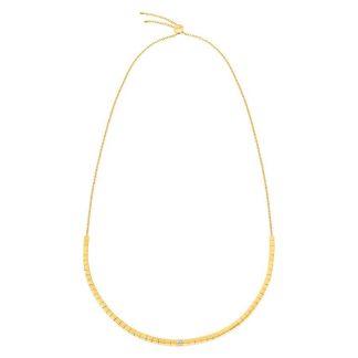 Calvin Klein collier Tube goud-0